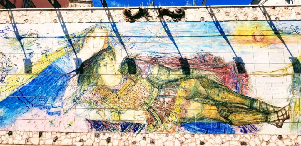 Taranto large painting the city not to see or do in Apulia