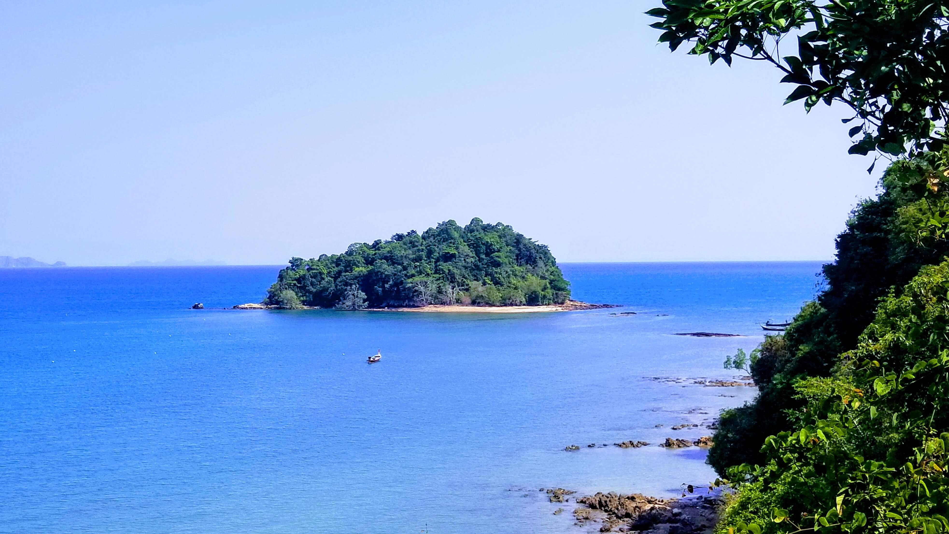 The small island of Ko Po.