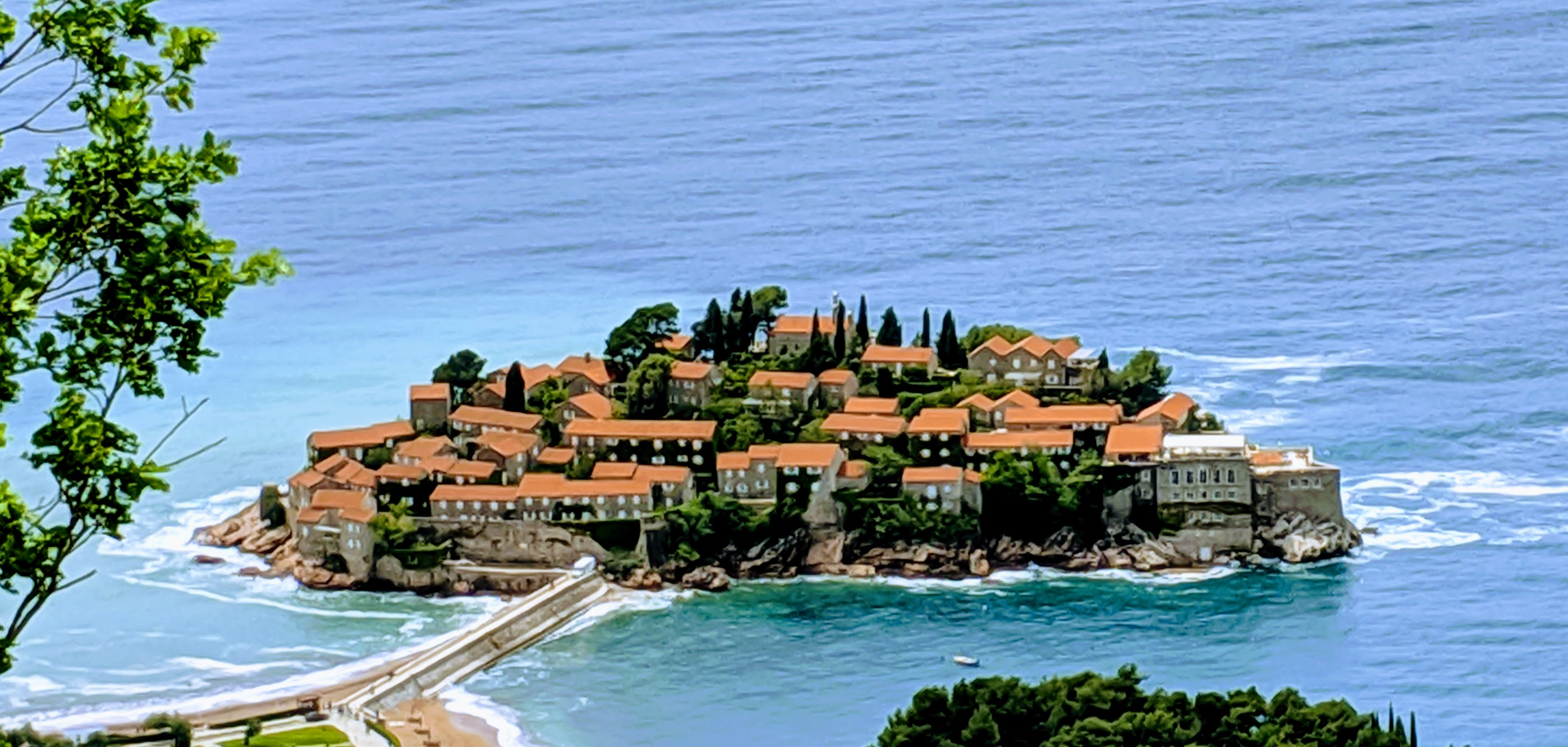 One of the top things to see and do in Montenegro is to visit Sveti Stefan.