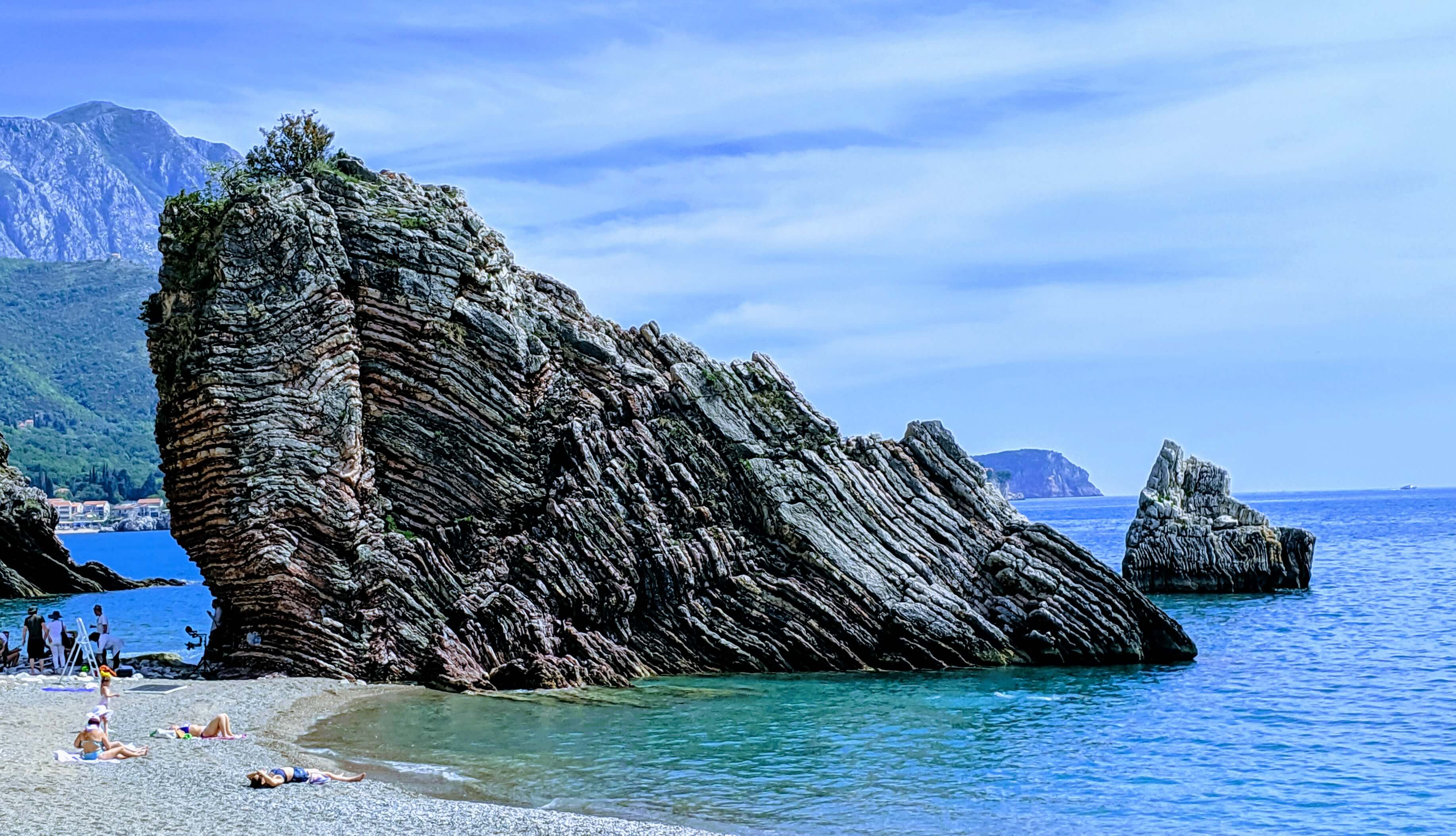 Top things to see and do in Montenegro:  Adriatic coastline near Budva in Montenegro