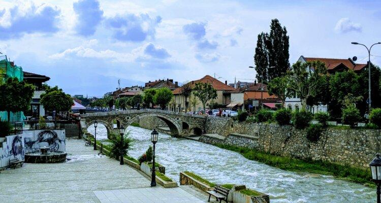Prizren Kosovo Stone Bridge