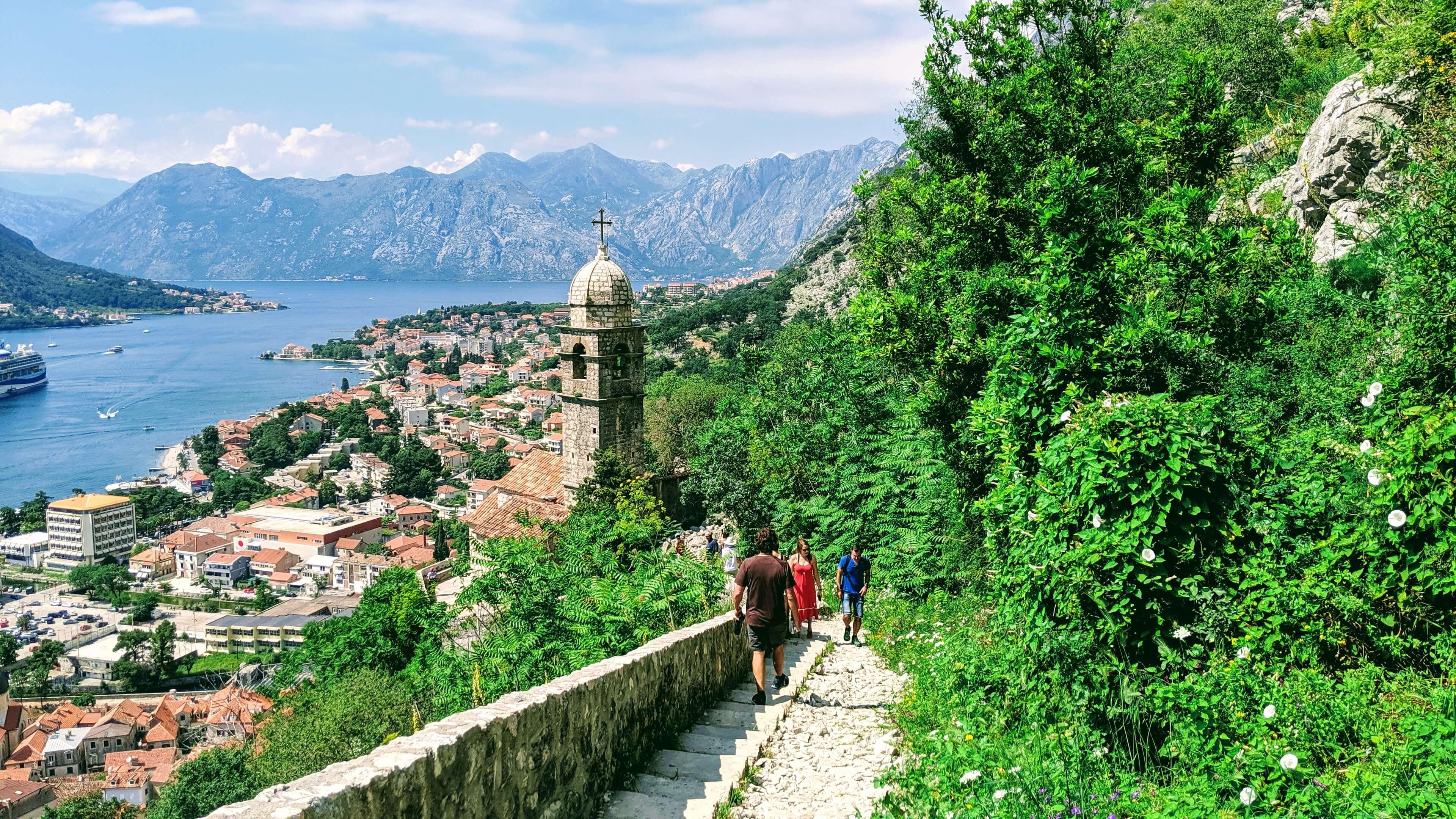 Fortress of Kotor overlooking Kotor Bay
