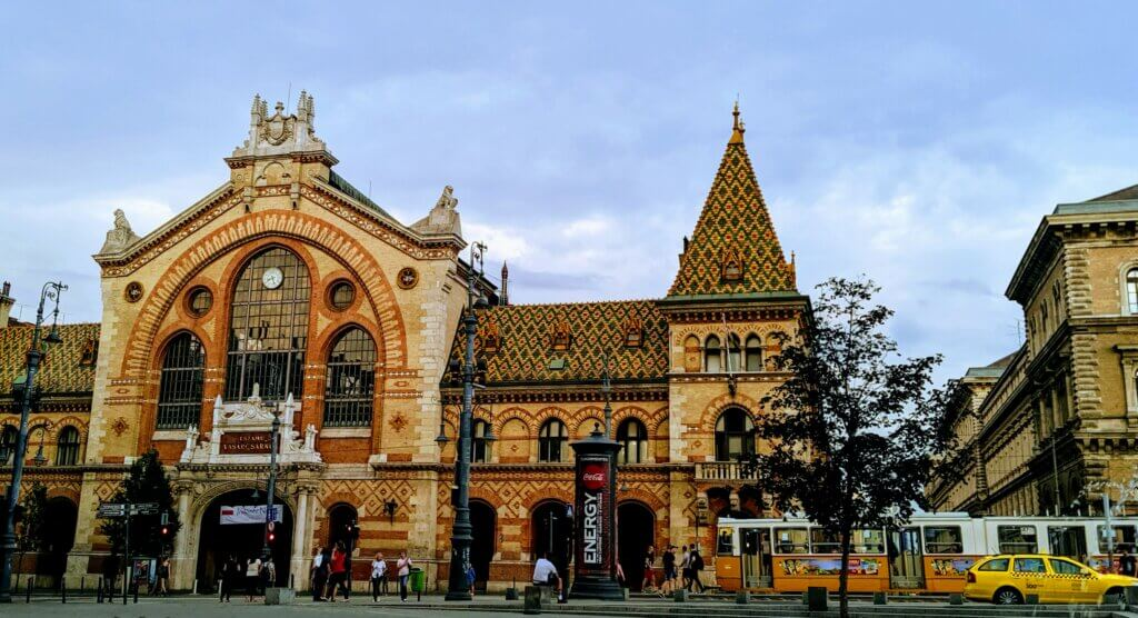 Great Market Hall is a free and fun thing to see and do in Budapest