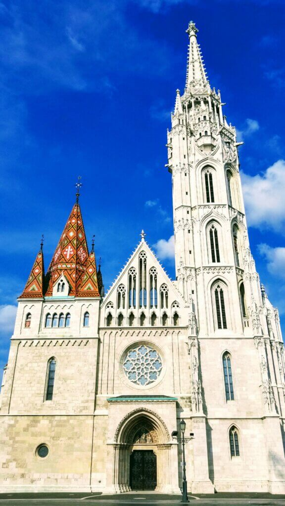 Matthias Church part of the free and fun things to see and do in Budapest through the free walking tour
