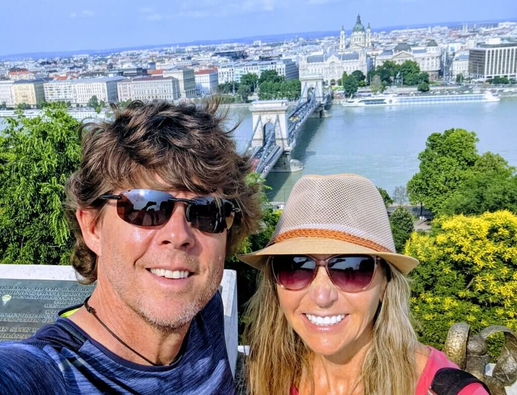 Walking around Buda Castle a great free and fun thing to do in Budapest