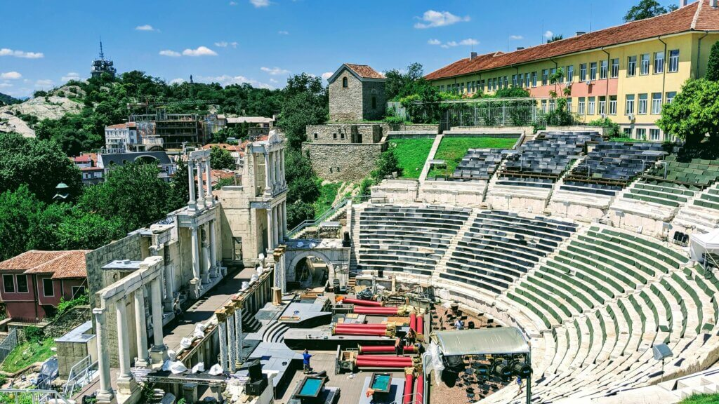 Old Town Plovdiv Roman Theater
