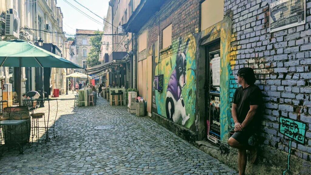 Kapana Streets with Street Art