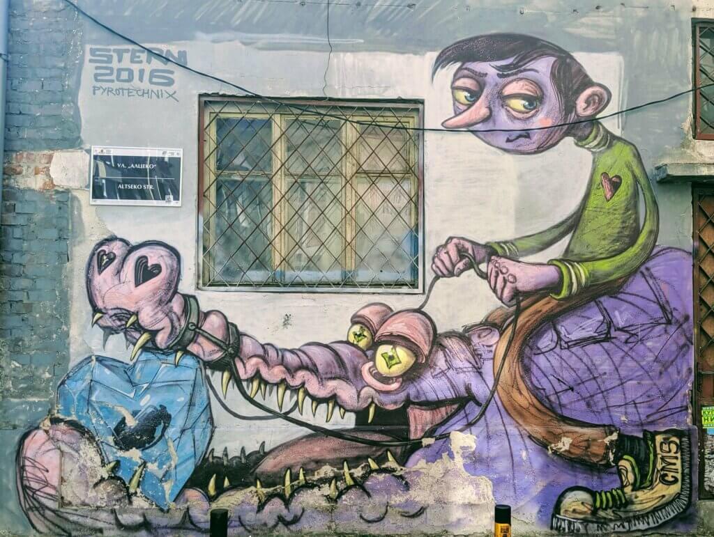 Plovdiv's Street Art