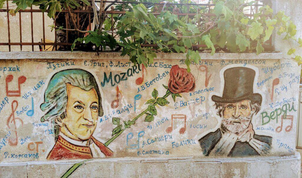 Musical Street Art of Plovdiv