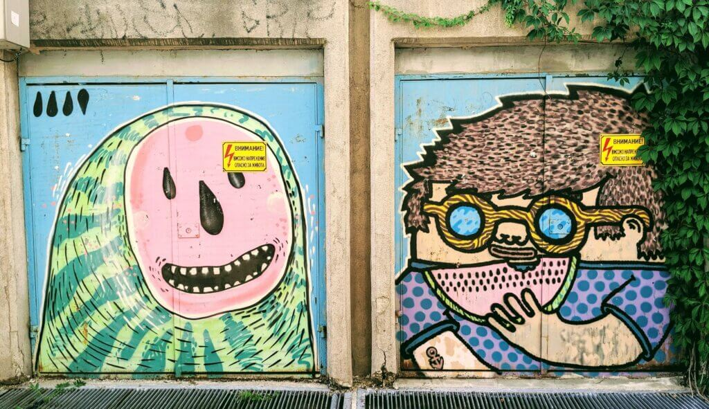 Kapana's colorful Street Art
