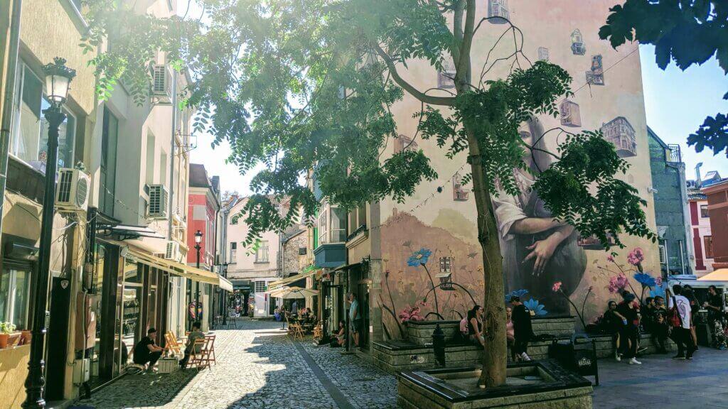 Kapana's Cafe's and Street Art