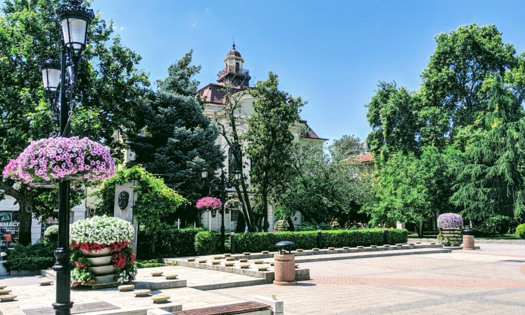 Main Square Plovdiv