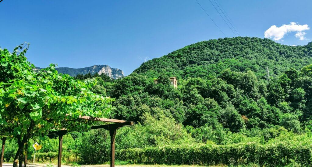 Red Wall Trail above Bachkovo Monastery